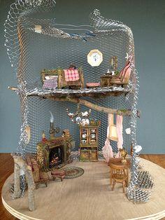 Tutorial: Fairy House Tree House Pt. 2