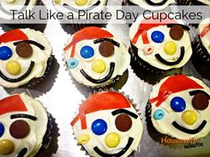 Talk Like A Pirate Day Cupcakes
