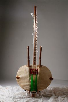 The Kora is a lute-bridge-harp used extensively in West Africa