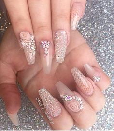 Throwback ✨✨✨ adored creating these nails ✨✨