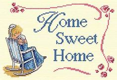 Home Sweet Home - All Our Yesterdays Cross Stitch Kit By Faye Whittaker