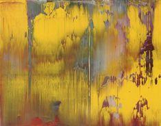 Gerhard Richter, Abstraktes Bild (Abstract Painting), 1997. Oil on Alu Dibond. 29cm H x 37cm W. [841-8]