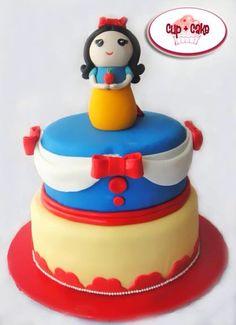 #Blancanieves #Snow White #Cake #CupcakeGdl