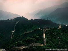 The Great Wall majestically drapes over the mountains standing the test of time.Photo and caption by Dave Chou