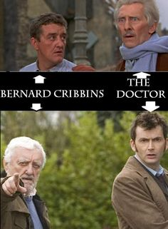 30 Day Dr Who Challenge: Day 16: Favorite Actor: Bernard Cribbins. So awesome that he was put up there twice!