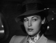 nitratediva: Ava Gardner in The Killers (1946).