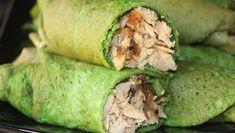 Crepes de espinacas proteicas con pollo fitness - Blog MASmusculo