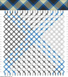 Friendship Bracelet Pattern 7488 new