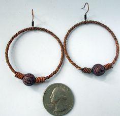 Tibetan EarringsTribal Earrings Asian Jewelry by AncientEthnic