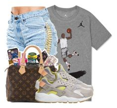 by dopegahl on Polyvore featuring polyvore, fashion, style, NIKE and clothing