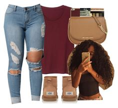 """""""kinda like it but @ the same time i dont."""" by chicbre ❤ liked on Polyvore featuring Monki"""