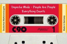 Dit is geen echt cassettebandje, maar een screenshot van de kloeke muziek-app DeliTape: je iTunes-muziek in een jaren '80-saus. ˆBB