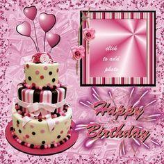 Happy Birthday #Marycarmenkim #birthdays Birthday Wishes With Photo, Happy Birthday Cake Pictures, Happy Birthday Greetings Friends, Birthday Cards Images, Happy Birthday Card Design, Birthday Photo Frame, Happy Birthday Frame, Happy Birthday Wishes Images, Happy Birthday Celebration
