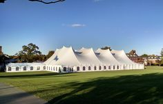 Elegant Victorian Tent for Fundraising Gala #events #gala