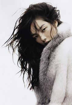 The ethereal beauty of Chinese model FEI FEI SUN 2011, photo by Josh Olins for Vogue China