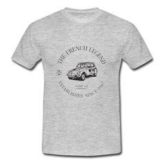 Tee-shirt homme CITROEN DYANE The FRENCH Legend