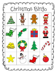 Bingo, Cards and The family on Pinterest |Christmas Bingo Questions Funny