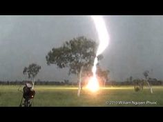Prepare to be awestruck – huge bolt of lightning hits ground 650 feet (200 meters) away!
