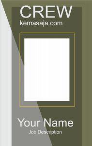 Contoh Desain Id Card Keren : contoh, desain, keren, Design, Desain,, Kartu,, Kartu