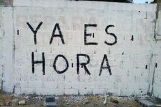 Ya es hora  #lavidaesarte #streetart