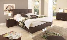 Velina Boxspring ágy NTLO 4_textilbőrrel