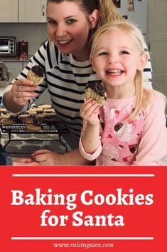 Santa's Cookies - Baking cookies with the girls for Santa. Exploring the math, science and life skills that go into baking! Baking Cookies, No Bake Cookies, Peanut Butter Cookies, Santa Cookies, Cute Cookies, Christmas Cookies, Christmas Traditions, Life Skills, Raising