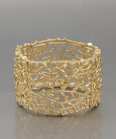 Gold branch braceley. This is much more me.