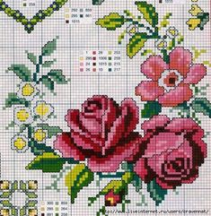 This Pin was discovered by Ley Cross Stitch Pillow, Cute Cross Stitch, Cross Stitch Rose, Cross Stitch Flowers, Modern Cross Stitch, Cross Stitch Charts, Cross Stitch Designs, Cross Stitch Patterns, Cross Stitching