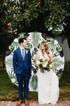 Classy Tropical Colorado Wedding at Blanc Denver | Image by  Jonas Peterson