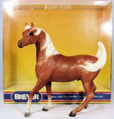 Sham - Prancing Arabian Stallion, Palomino w/ Box