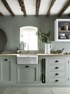 7 ways to create a country kitchen that's fit for 2018 - housebeautiful.co.uk