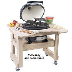 "Cypress Table for Oval Junior (4- wheels; 39""W-25""D-32""H) http://www.katom.com/632-PRM605.html"