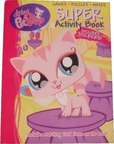 Littlest Pet Shop Coloring and Activity Book 144 Pages - Stickers Puzzles Games Mazes by Bendon Publishing. $12.95. writing a story, drawing, and so much more!. Contains 144 pages of fun & activities, including a page of stickers. Mask making, mazes, battleship type of game, tic-tac-toe. Activities include coloring, word search, matching, puzzles. Littlest Pet Shop Themed JUMBO Coloring & Activity Book. This book has easy tear-out pages, so you can focus on specific activiti...