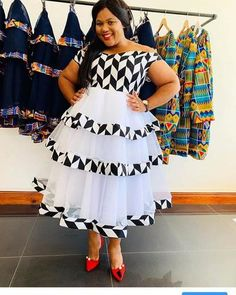 African Dresses For Kids, African Maxi Dresses, Latest African Fashion Dresses, African Print Fashion, Sepedi Traditional Dresses, Traditional African Clothing, Traditional Wedding, Xhosa Attire, African Attire