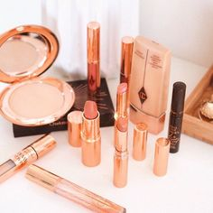 My beloved collection, including some new babes that are just too good looking to even consider using… Pillow Talk, Charlotte Tilbury, How To Look Better, Lipstick, Photo And Video, Diamond, Beauty, Collection, Instagram
