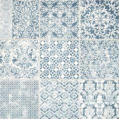 Delicato Ocean Decorative Porcelain Tiles | Mandarin Stone