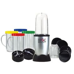 The Magic Bullet replaces a food processor, blender, and coffee grinder, yet it occupies only the space of a coffee mug. Enter today for a chance to win a Magic Bullet. Magic Bullet Dessert Bullet, Drink Recipe Book, Power Smoothie, Smoothie Blender, Protein Smoothies, Fruit Smoothies, Smoothie Makers, Frozen Cocktails, Magic Recipe