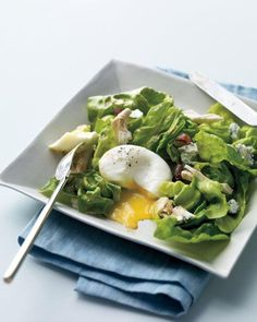 Cobb Salad with Poached Eggs Recipe