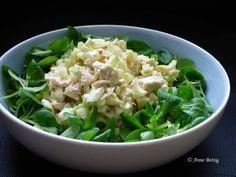 Salade de poulet curry