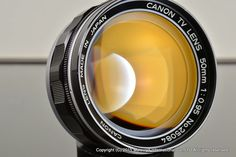 Canon TV 50mm f/0.95 Converted to Leica M mount Excelent+ #Canon
