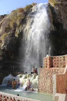 Ma'In Hot Springs, Jordan