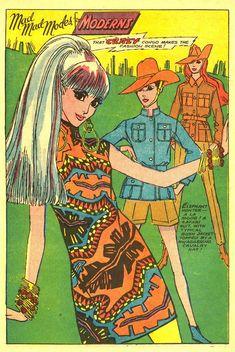Fashion comic, late 1960s