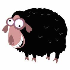 black sheep funnies | Funny Black Sheep Photo Cut Out at Zazzle.ca