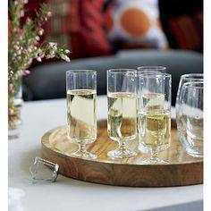 Prosecco Sparkling Wine Glass I Crate and Barrel