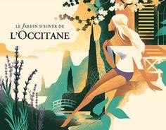 Le Jardin d'hiver de L'Occitane on Behance