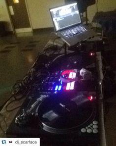 #Repost @dj_scarface  Birthday party/cabaret... My set up for tonight... #dj #djs #djgear #michigan #music #detroit #setup #club #djlife #djlifestyle #rane #serato #scratchlive #scratch #live #turntables #turntablism #turntablist #edm #soundguy #sound #sounds #fresh #kold #inksternative #conglomeratedjs #djscarface by conglomeratedjs http://ift.tt/1HNGVsC
