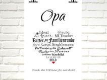 """Kunstdruck  """"OPA"""""""