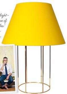 Sophia Lamp, designed for Phoenix Day Lighting by Charles de Lisle (November 2012 - Lonny Magazine)