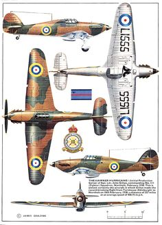 Hawker Hurricane I This is my favorite British Aircraft from the Second World War. It was the real work horse during the Battle of Britain.