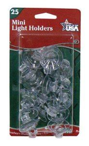 """ADAMS MFG 7501-00-1040 SUCTION LIGHT CLIP CD/20 by Unknown. $4.77. Carded/20. Mounts lights on glass, plastic and metal. For mini lightsets. Blister pack. Clip swivels to permit alignment of lights. """"EMERALD"""" SUCTION LIGHT CLIP   For mini lightsets  Mounts lights on glass, plastic and metal  Clip swivels to permit alignment of lights  Blister pack  Carded/20"""